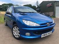 Peugeot 206 1.4 Look 3 Door (Very Low Miles)