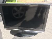 Tv 37 inch tv dvd combo really good condition on stand £50