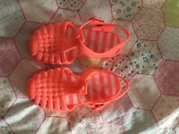 Next jelly shoes 7