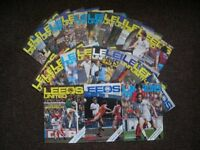 Leeds United Football Programmes - Away + Home 1980's + 90's + more