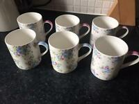 Waitrose bone China mugs