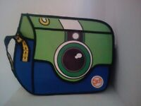 Colourful unisex school bag - as new