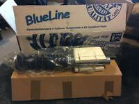 JOM BlueLine lowering coilovers, fits Golf, Leon, Bora e.t.c