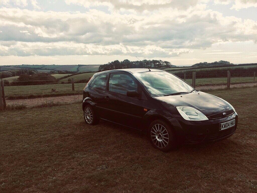 Black Ford Fiesta, 04 Hatchback - 169,000 Miles    in Plymouth, Devon    Gumtree