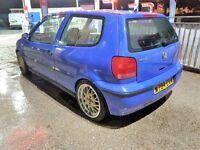 vw polo 1.4 lowered with alloys fitted recaro seats mot march 2017 (no swaps at all)