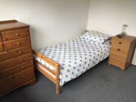 Single bedroom in family home.