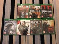 XBOX ONE GAMES FOR SALE - GOOD CONDITION