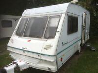 2 berth caravan abby