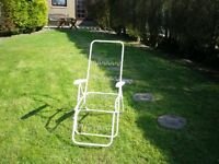 White multi position chair Frame only