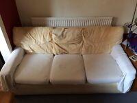 Free White Sofa/Settee