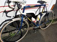 "Vintage Raleigh Criterium 12 Triathlon, 25"" 501 Reynolds tube frame"