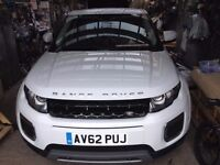 2012 Land Rover Range Rover Evoque 2.2 SD4 Pure 3dr Auto [Tech Pack] Diesel white