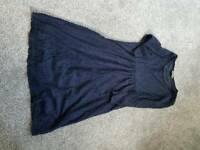 Maternity size 12 navy dress from mothercare
