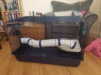 Small animal cage - rabbits, guinea pigs, ferrets, rats