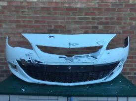 Vauxhall Astra j gtc front bumpers