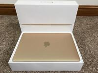"MACBOOK 12"" GOLD, MLHE2BA, LATEST 2016 MODEL, BOXED IN PRISTINE CONDITION & 10 MONTHS APPLE WARRANTY"