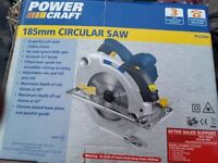 Circular Saw. Never been used still in box. Havi g clear out