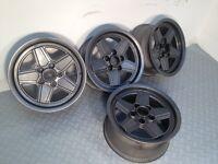"Original MELBER PENTA 15"" 5x112, 7J deep dish alloy wheels, amg not borbet, ats, zenter, bbs, hartge"