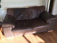 Leather sofa - Free