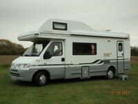 Fiat Ducato 2.5 litre Diesel AutoCruise with Full AC (5-Berth) Motorhome