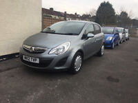 Vauxhall Corsa 2012 1.2 Petrol 5 Door Manual Hatchback Silver Stunning Car