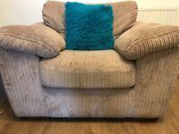 Light brown armchair