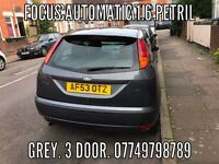FORD FOCUS 1.6 PETROL AUTOMATIC AUTOMATIC AUTOMATIC 2004