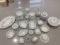 "Collection of ""Angela"" Wedgewood"