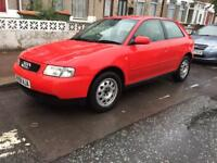 Audi A3 1.8 Low Milage taxed and mot good condition