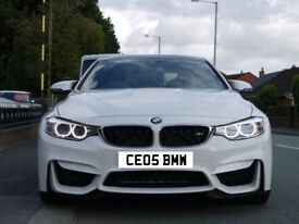 CEO's BMW Number Plate for Sale
