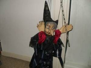 70 CM RARE LARGE HAND HELD WITCH PUPPET Cranebrook Penrith Area Preview