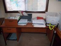 DESK/WORK BENCH/ CRAFT TABLE
