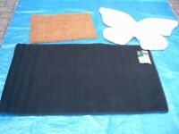 Coir Doormats, Black Runners and Butterfly Rugs (All New Stock)