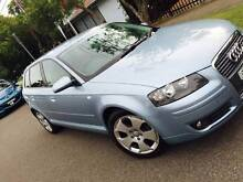 2006 Audi A3 Auto Sports Logbooks Long Rego bmw 120i b200 a170 A1 Meadowbank Ryde Area Preview