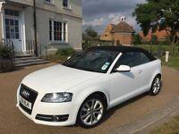 2011 Audi A3 1.2 Convertible 18k Low Miles HPI Clear Cabriolet Sport Petrol Manual FSH - Bargain