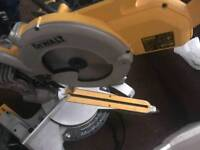 Paslode 1st fix and dewault chopsaw