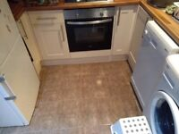 Kitchen units in good condition