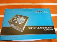 New Artic Blue 750w ATX power supply