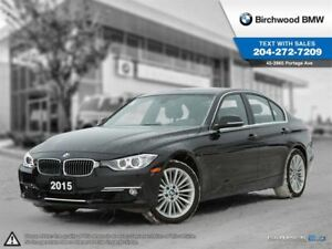 2015 BMW 3 Series 328i Xdrive Satellite Radio!