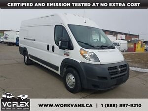 2014 Ram ProMaster 3500 Extended High Roof 3.6L V6 Gas