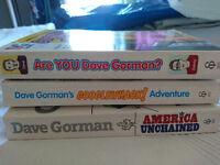 Dave Gorman Books x3