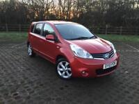 Nissan Note 2010 1.4L 5DR. Bluetooth, Sat Nav, USB, Owner From New, HPI Clear