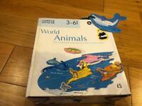 World animal puzzle