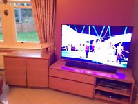 Video unit and small matching sideboard