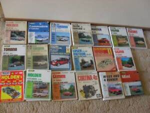 Gregory's Workshop Manuals $25 each