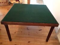 """Large VONO Card/poker Table - 30"""" - With Folding Legs - OCCASIONAL FOLDAWAY DINING"""
