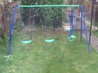 Swing set - excellent condition - 3 months old