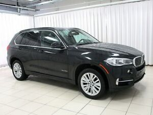 2015 BMW X5 35d x-DRIVE DIESEL w/ NAV, PANO ROOF, HEAD UP DISP