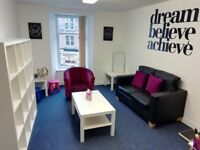 Bright and spacious office/therapy room to rent in Blairgowrie town centre