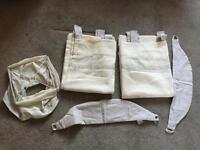 Mama & Papas curtains and light shade baby nursery bundle